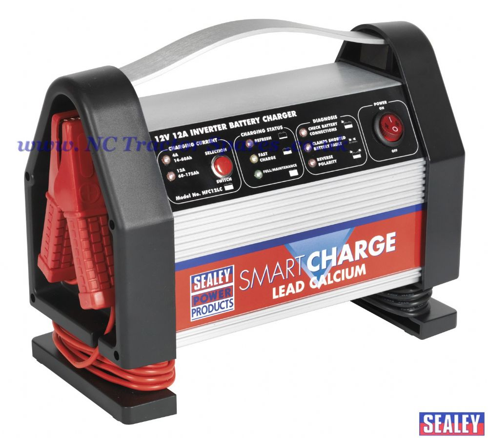 SmartCharge Inverter Battery Charger Lead Calcium 12V 12Amp 230V